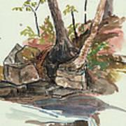 The Jessup Indian Lake Ny Art Print