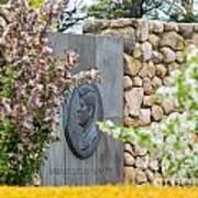 The John F. Kennedy Memorial At Veterans Memorial Park In Hyanni Art Print