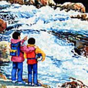 The Kayak Racer 14 Art Print by Hanne Lore Koehler