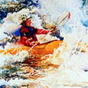 The Kayak Racer 19 Art Print