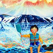 The Kayak Racer 5 Art Print