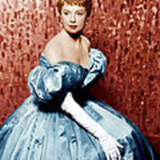 The King And I, Deborah Kerr, 1956 Art Print by Everett