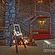 The King's Living Room Art Print by Susan Candelario