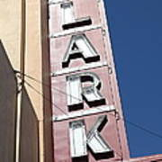 The Lark Theater In Larkspur California - 5d18489 Art Print
