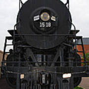 The Last Iron Horse Loc 1518 In Paducah Ky Art Print
