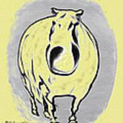 The Legend Of Fat Horse Art Print