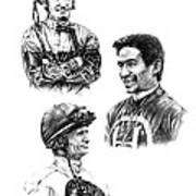 The Legends  Art Print