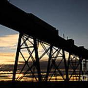 The Lethbridge Bridge Art Print