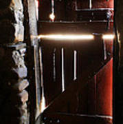 The Light Enters Barn Art Print