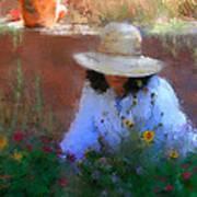 The Light Of The Garden Art Print