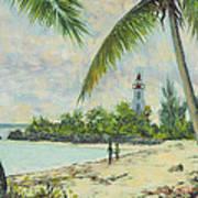 The Lighthouse - Zanzibar Art Print