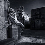 The Little Angel Recoleta Cemetery Ba Art Print