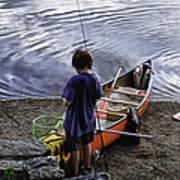 The Little Fisherman Art Print