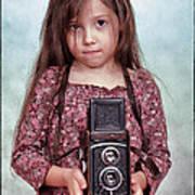 The Little Photographer Art Print