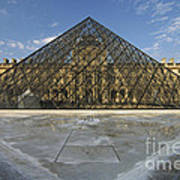 The Louvre Pyramid Paris Art Print