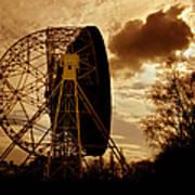 The Lovell Telescope At Jodrell Bank Art Print