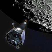 The Lunar Crater Observation Art Print