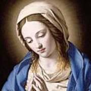 The Madonna Praying Art Print