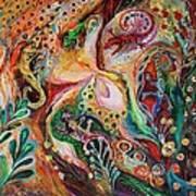 The Magic Circle... Available For Direct Purchase On Www.elenakotliarker.com Art Print