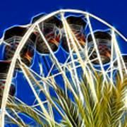 The Magic Ferris Wheel Ride Art Print