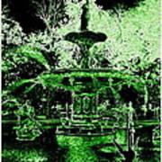 Green Savannah Art Print