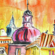 The Magical Roofs Of Prague 01 Bis Art Print
