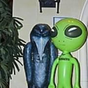 The Maltese Alien Art Print