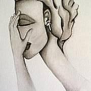 The Mask Art Print by Simona  Mereu