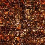 The Masses Of Metropolis Art Print