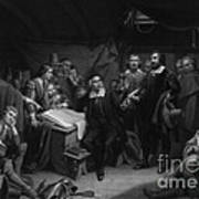 The Mayflower Compact, 1620 Art Print