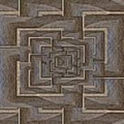 The Maze Within Art Print