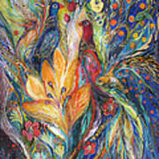 The Melody Of Love Art Print by Elena Kotliarker