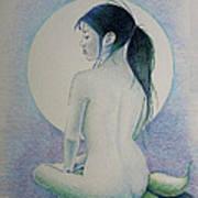 The Mermaid 1 Art Print by Tim Ernst