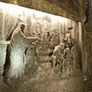 The Miracle At Cana In Galilee - Wieliczka Salt Mine Art Print