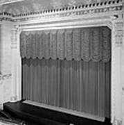 The Missouri Theater Building, View Art Print