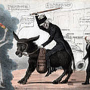 The Modern Balaam And His Ass, Showing Art Print