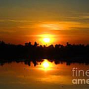 The Most Beautiful Sunset Ever Seen Art Print