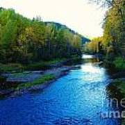 The Moyie River Near Yak B C Art Print