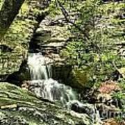 The Mystery Waterfall Art Print
