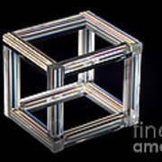 The Necker Cube Art Print