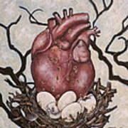 The Nest Of My Heart Art Print