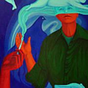 The Nicotine. Art Print