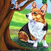 The Oak Tree Fae Art Print
