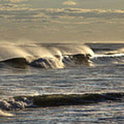 The Ocean Winds Art Print