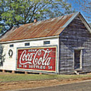 The Old Brantley Store Art Print
