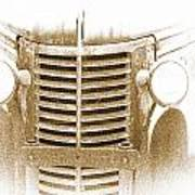 The Old Chevrolet Art Print