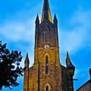The Old Church At Donegal Town Art Print