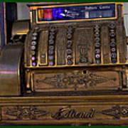 The Old Copper Cash Machine Art Print