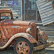 The Old Dodge Art Print