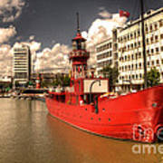 The Old Lightship Art Print